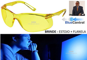 606793369 Óculos Escuridão Virtual Filtro Luz Azul 2 Cores Dr Lair