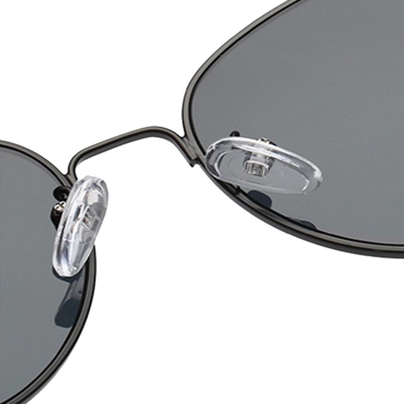 óculos escuro de sol gatinho cat eye retrô vintage de metal. Carregando  zoom. 3026ddce2a