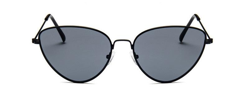 Óculos Escuro De Sol Gatinho Cat Eye Retrô Vintage De Metal - R  28 ... e151d42760