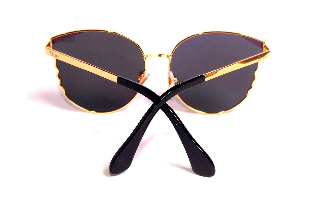 3bc1979f7afdd óculos escuro dior feminino metal dourado redondo importado. Carregando  zoom.