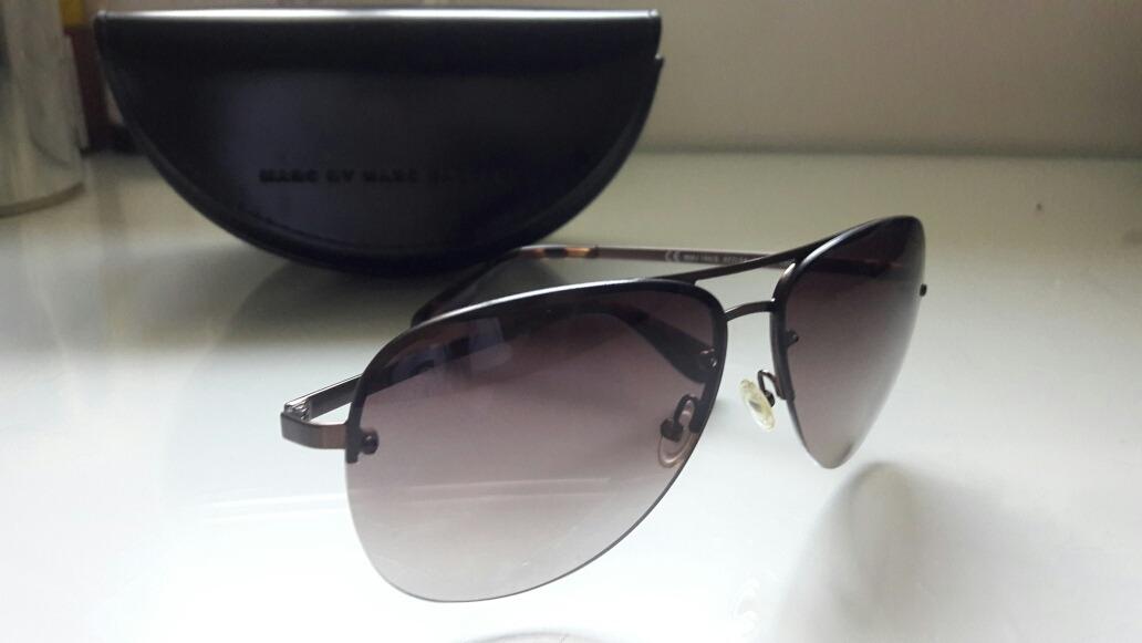 Óculos Escuro de Sol Original Aviador Marc Jacobs - R  100,00 em ... b44db854e9
