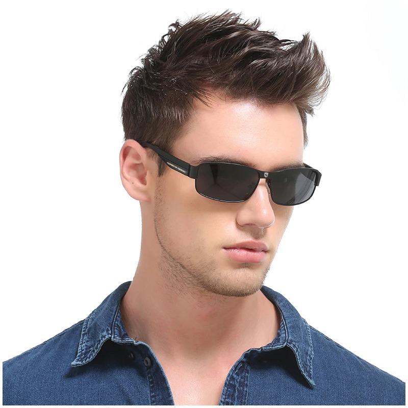 4e97916ad6918 óculos escuros de sol aviator p8000 uv400 polarizado polícia. Carregando  zoom.