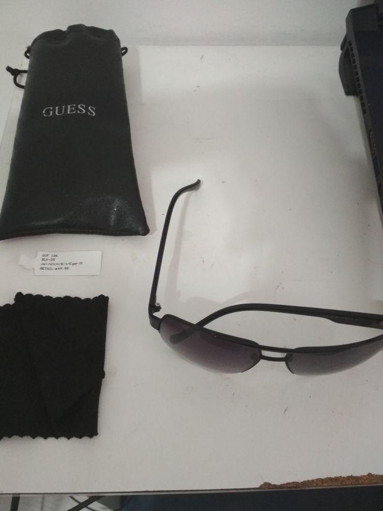 09a80d00b1545 óculos escuros guess aviator original -guf 126 - mais barato. Carregando  zoom.
