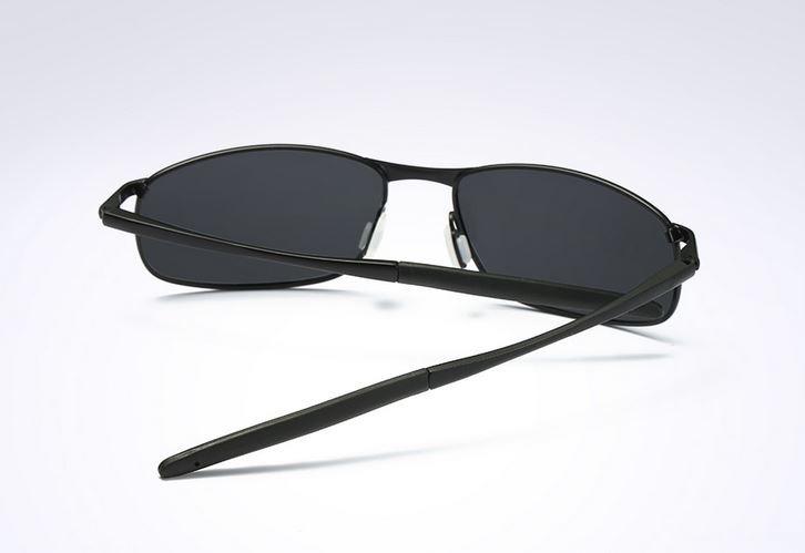 1ff9c9b19 Óculos Escuros Masculino Polarizado Uv 400 Resistente Preto - R$ 89 ...