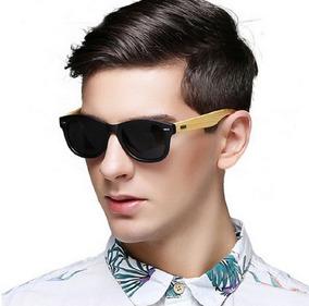 4422ae5b2 Óculos Escuros Masculino Proteção Uv 400 Quadrado Retrô Sk8
