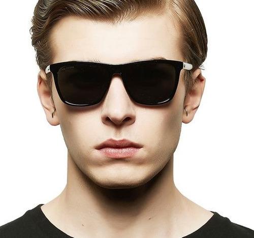óculos escuros veithdia masculino polarizado quadrado uv