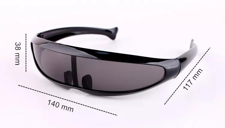 Oculos Escuros Viseira Tipo X-men Cyclops X Men No Brasil - R  110 ... 24539cd42bc