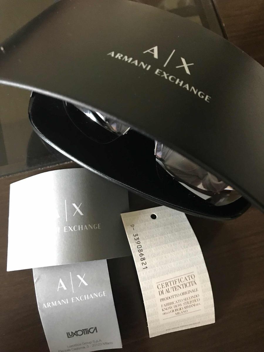 2f47ffb971bdb óculos espelhado armani exchange prateado ax2021s. Carregando zoom.