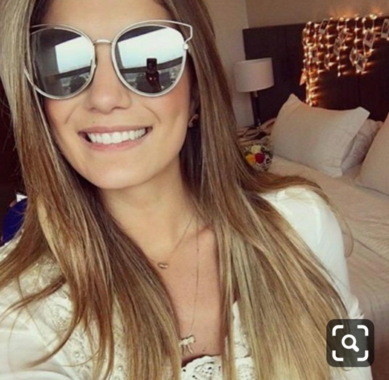 6c220751af05b óculos espelhado de marca importado feminino moda verão 2019. Carregando  zoom.