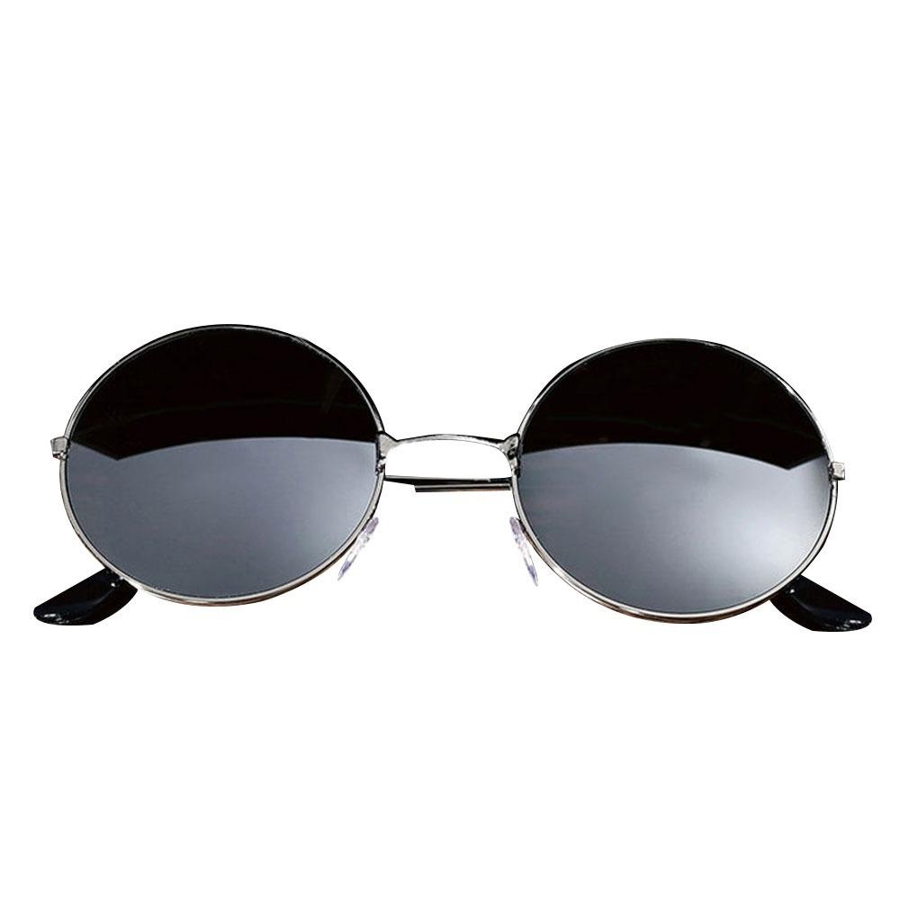 Óculos Espelhado De Sol Uv400 Metal Retrô John Lennon - R  120,00 em ... 62cc7515e4