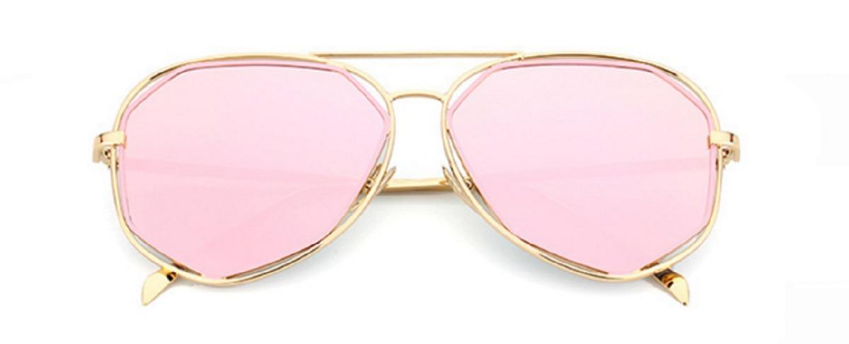 2be2e580d óculos espelhado feminino metal olho de gato gatinho barato. Carregando zoom .