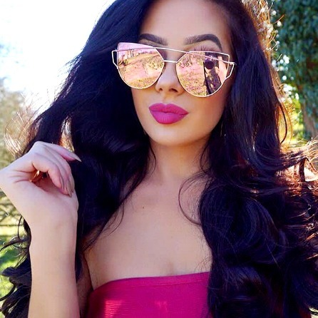 150d2ccba Óculos Espelhado Feminino Nova Moda Verão 2018 Extra Grande - R$ 99 ...