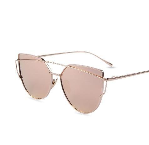ff25e742addf6 Óculos Espelhado Feminino Olho De Gato Gatinho Barato - R  29