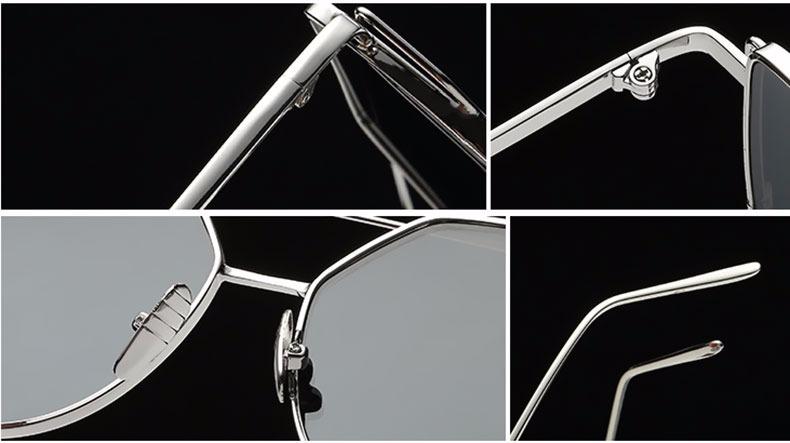 de80c81318bfe Óculos Espelhado Feminino Olho De Gato Gatinho Metal Redondo - R  29 ...