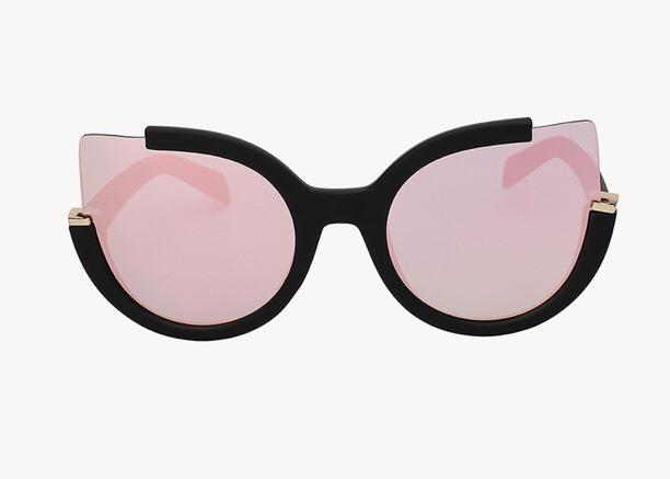 Óculos Espelhado Feminino Olho De Gato Gatinho Redondo - R  59,99 em ... 391a5448a7