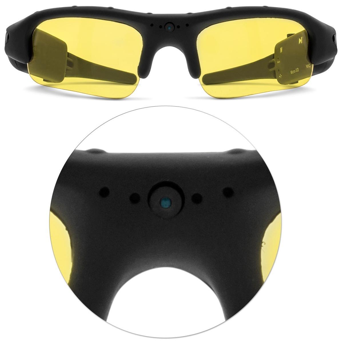 002f3d106596c Oculos Espiao De Sol Camera Filmadora Usb Sport Leadership - R  199 ...