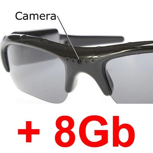 Oculos Espiao De Sol Espiã 8gb Alta Resolução Pen Drive - R  104,90 ... 37e358197b