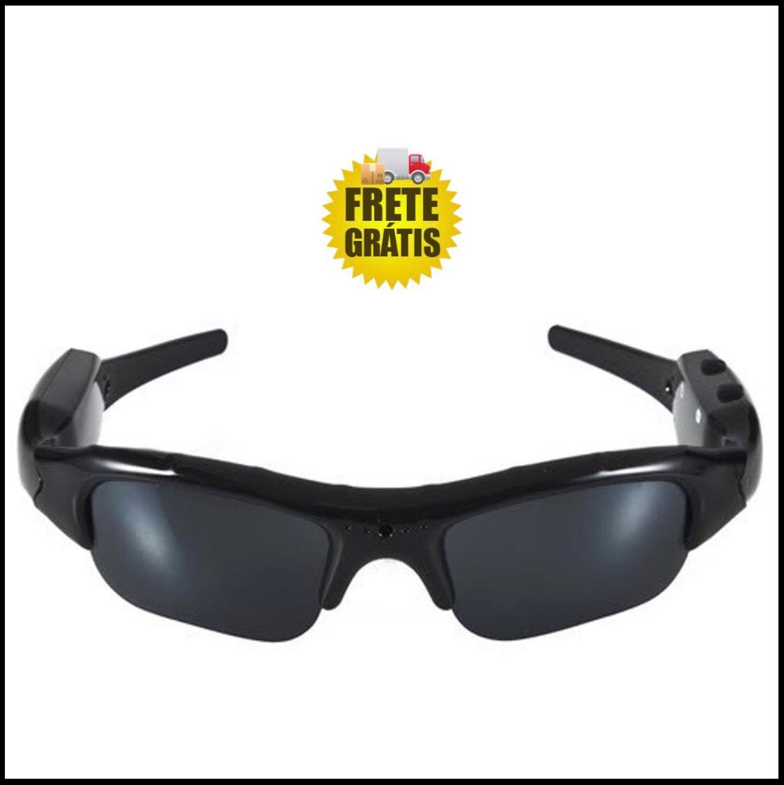 44cb7a406 Óculos Espião Câmera Hd Espiã Ciclismo Trilha - R$ 108,60 em Mercado ...