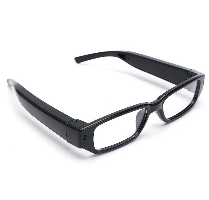 0866a5cc2b620 Óculos Espião Com Câmera Escondida Hd - Tira Foto E Filma - R  99,99 ...