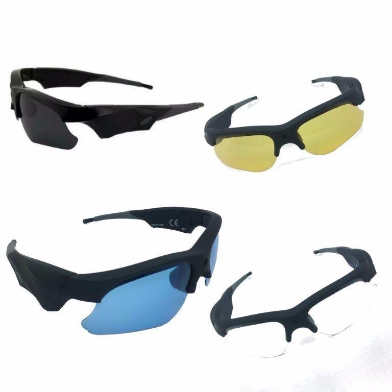 64ed5897f3336 Óculos Espião Com Câmera Espiã Hd 1080p Com Troca De Lentes - R  599 ...