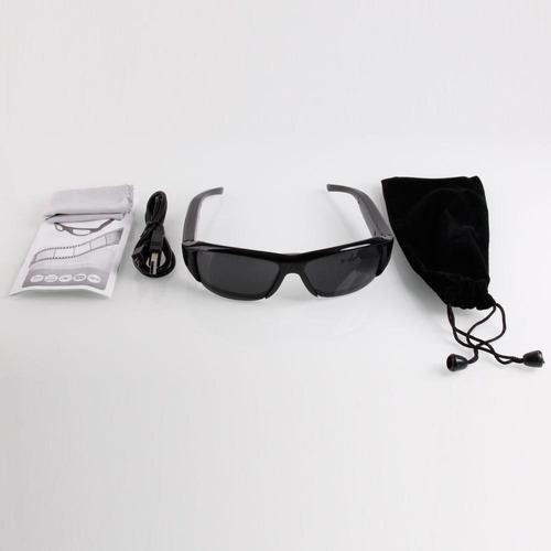 óculos espião de sol qualidade hd 720p; imperceptível.