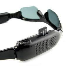 óculos espião spy filma grava com cartão 4gb lançamento novo