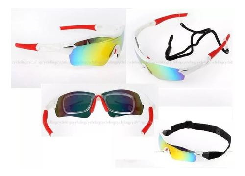 oculos esportivo 5 lentes-polarizado rockbros