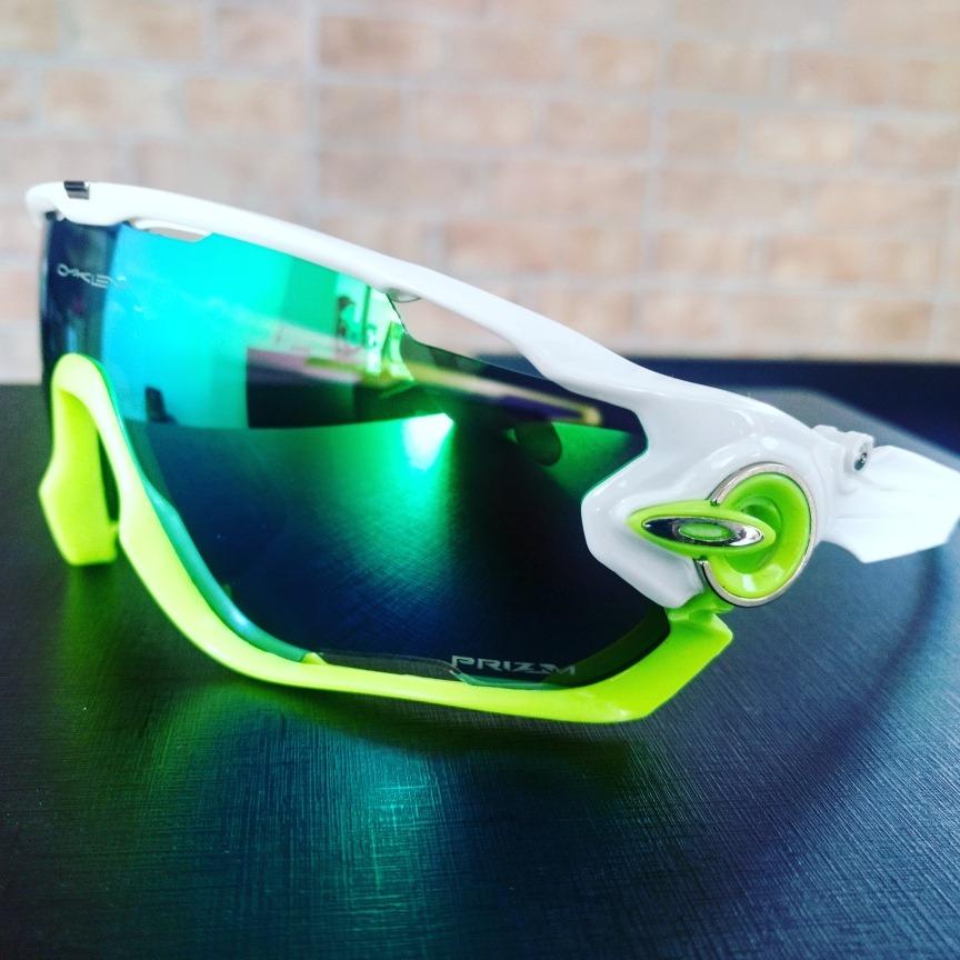 Óculos Esportivo De Ciclismo Oakley Jawbreaker - R  189,00 em ... f0792edabe
