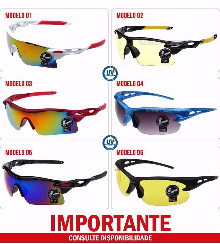 4c64122d88ed8 Óculos Esportivo Masculino Feminino Unisex Proteção Uv400 - R  22