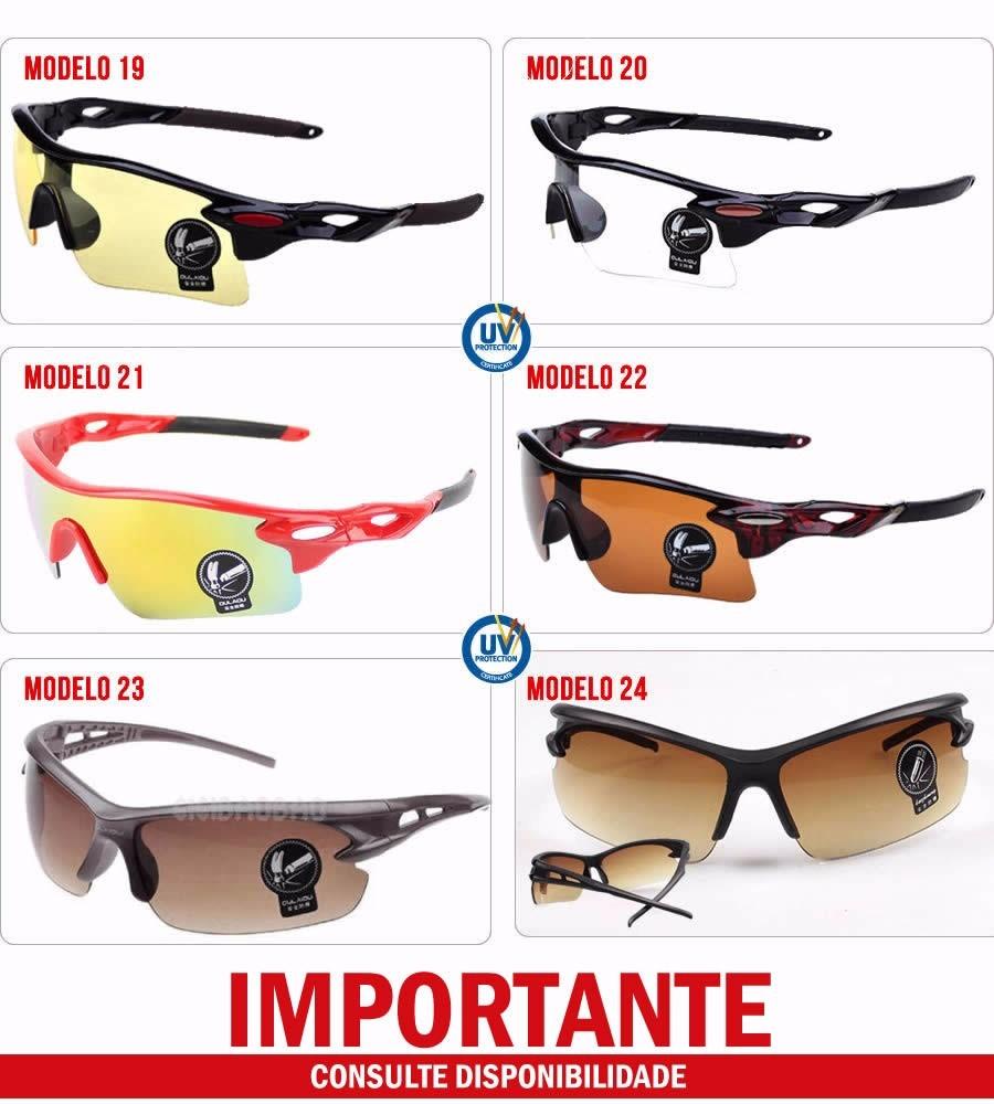 6b6c263e6ed97 óculos esportivo masculino feminino unisex proteção uv400. 6 Fotos