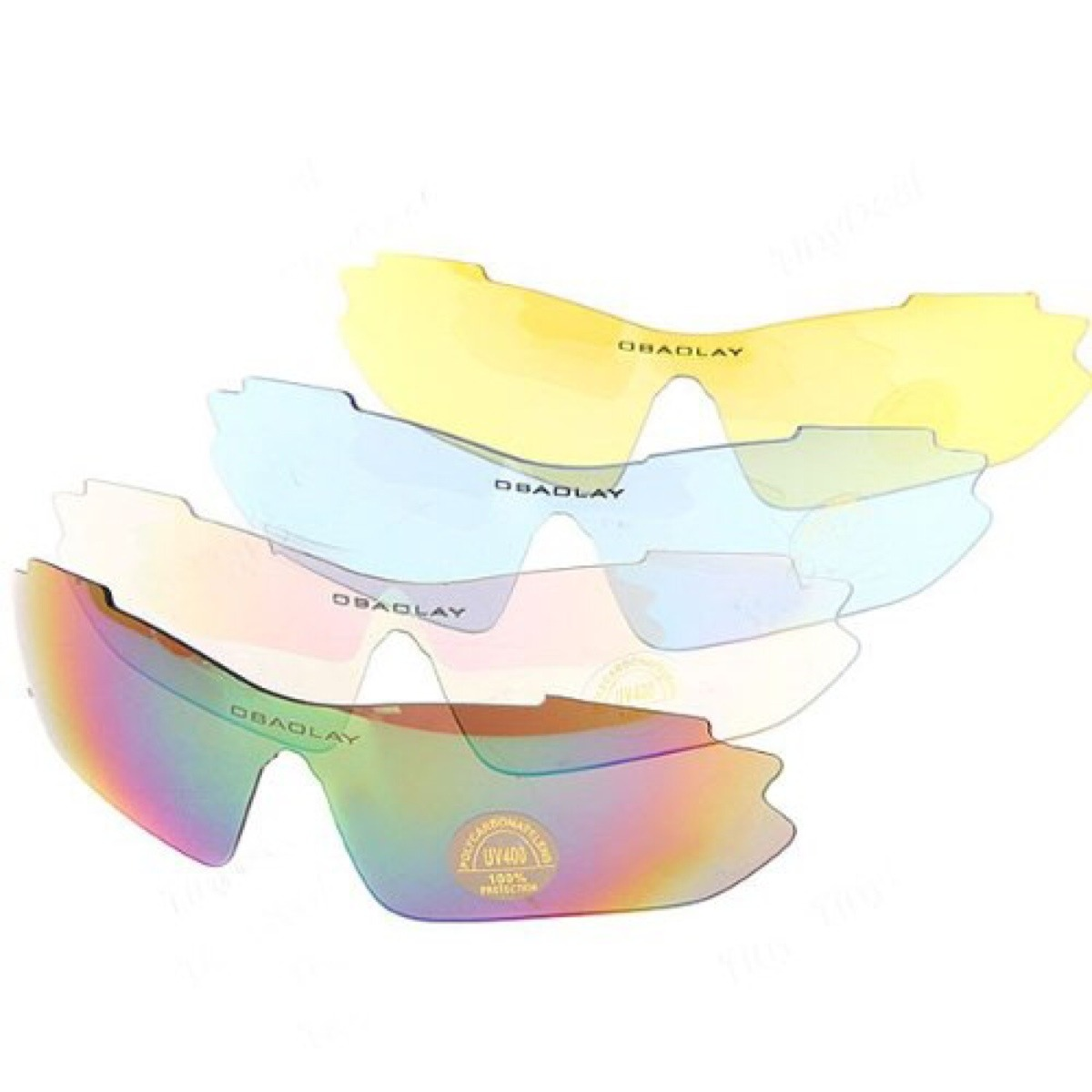 7eedbbcfd oculos esportivo motociclista bike 5 lentes obaolay top. Carregando zoom.
