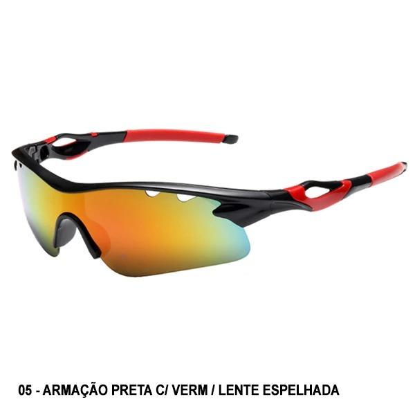 3c02757590713 Óculos Esportivo Sol Bike Ciclismo Corrida Vôlei Uv400 West - R  24 ...