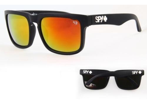 óculos esportivo vermelho espelhado uv-400