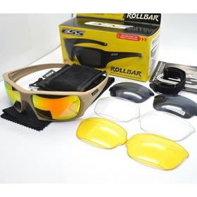Oculos Ess Rollbar Oculos Airsoft Oculos Balísticos 4 Lentes