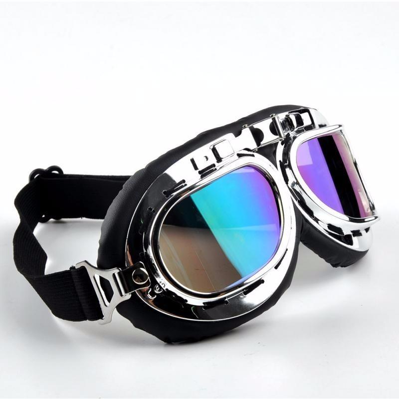 09ceab69c4d9f óculos estilo aviador vintage retro moto custom espelhado. Carregando zoom.