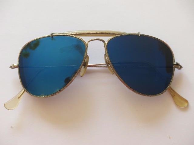 96e4bd7001f62 Óculos Estilo Ray-ban Aviador Antigo - R  100