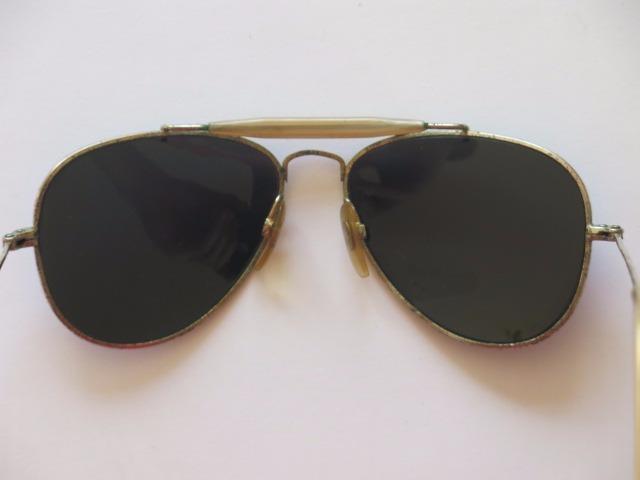 86764aa10116e Óculos Estilo Ray-ban Aviador Antigo - R  100,00 em Mercado Livre