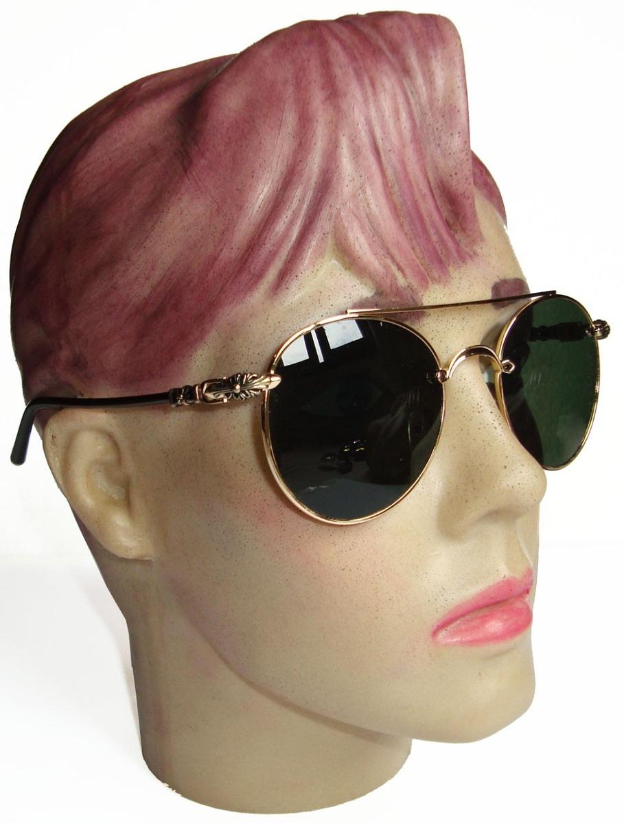 16d4a198f oculos estilo redondo john lennon dourado lente verde g15. Carregando zoom.
