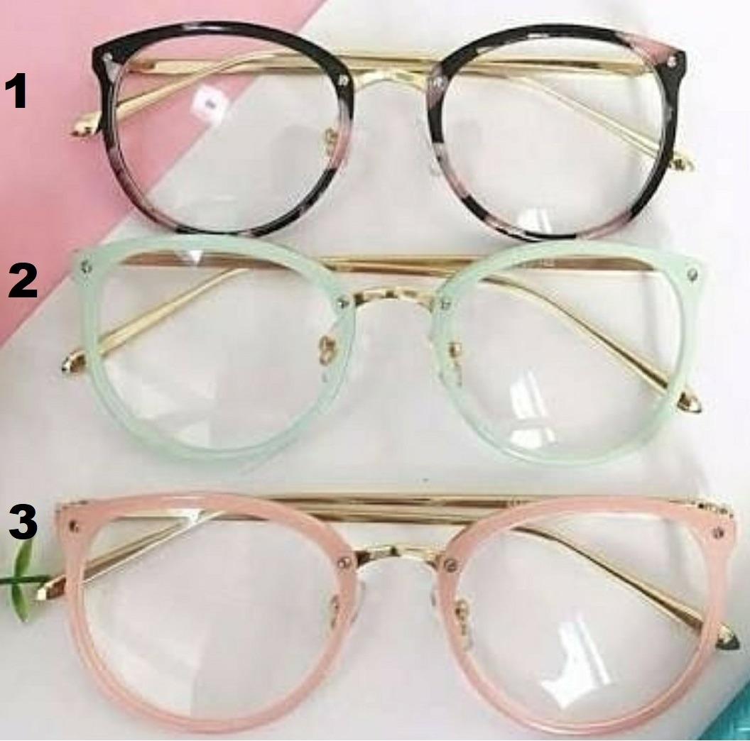 óculos estiloso armação transparente importado sem grau nerd. Carregando  zoom. d728dcc3c4