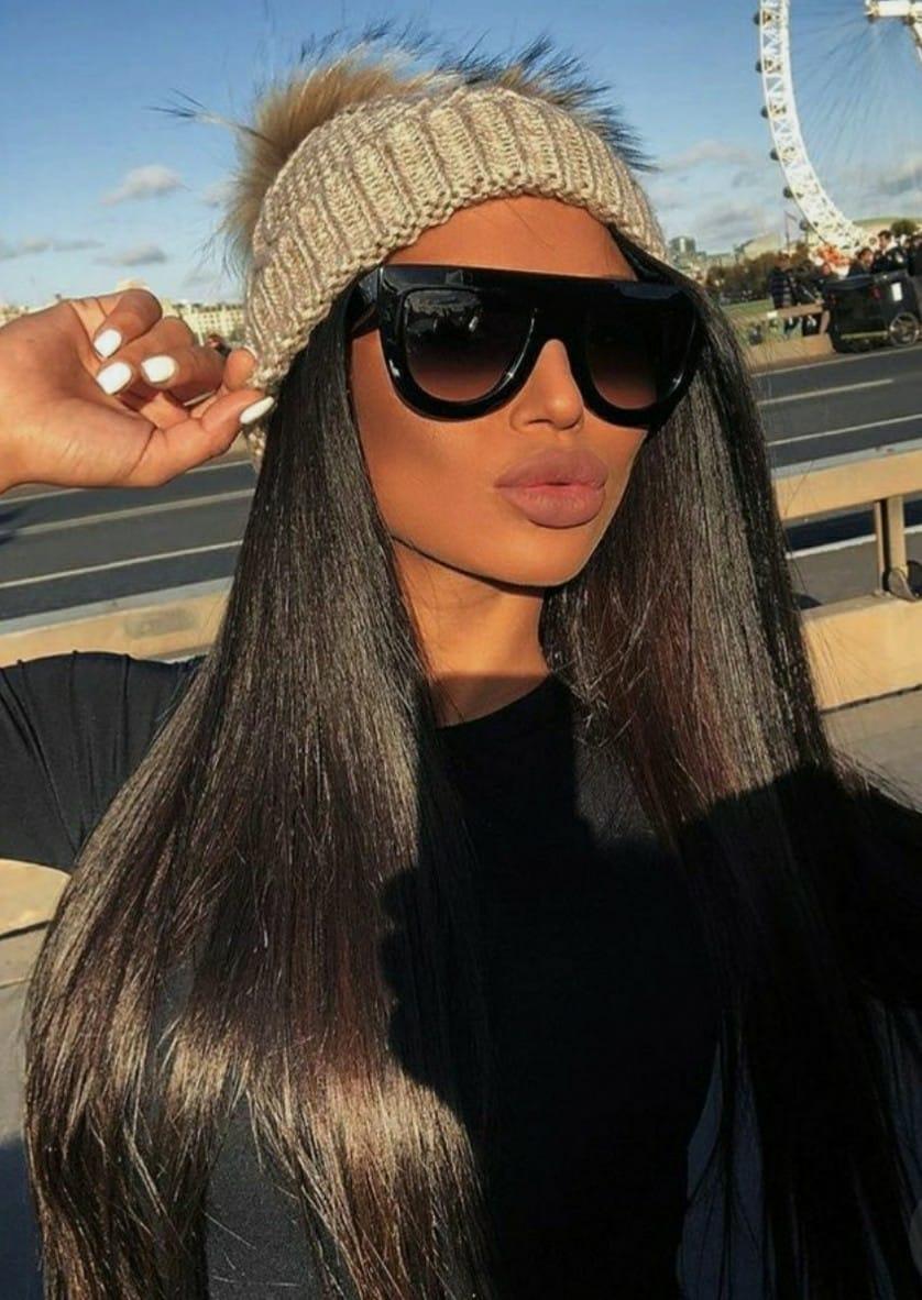 bc6fc4799972d óculos estiloso moderno preto para mulher reto lindo luxuoso. Carregando  zoom.