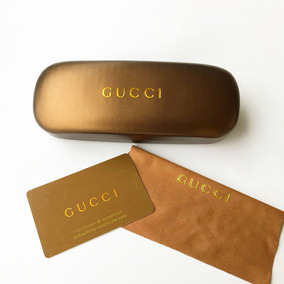 4a6ee0e7d2c77 Case Estojo Para Oculos Gucci - Óculos no Mercado Livre Brasil