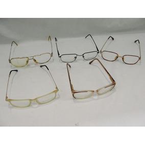 884d745e41237 Lote Com 5 Oculos Antigos Armação Anos 80 Lot Oc07 · R  129 99