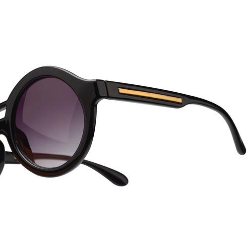 4db95e115f064 Óculos Euro Preto Feminino - Oc116eu 8p Original Loja - R  249