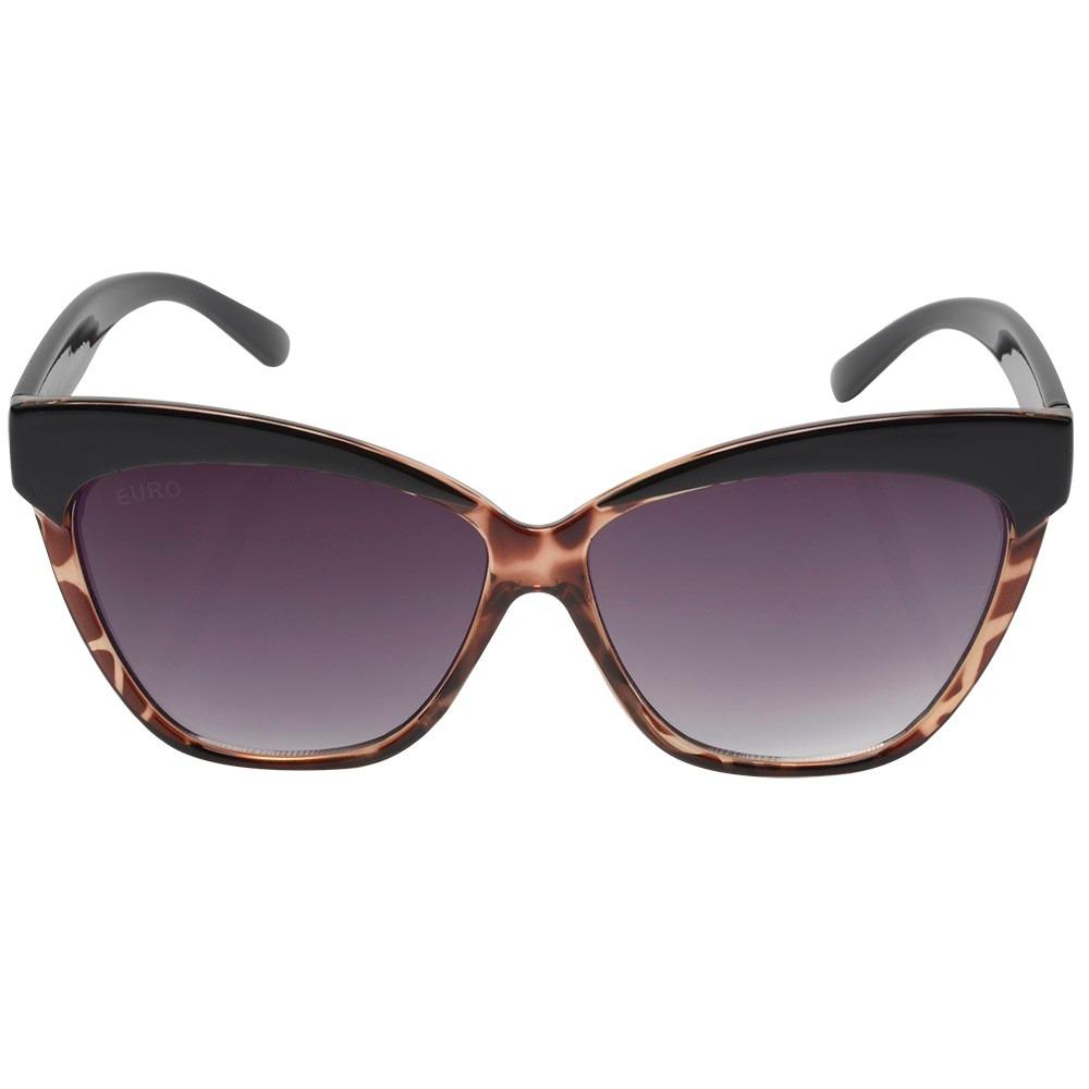 5a049cc4c78e7 óculos euro preto feminino - oc118eu 8m. Carregando zoom.