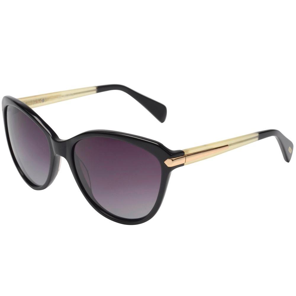 84e55e6221e98 óculos euro preto feminino - oc125eu 8p original loja. Carregando zoom.