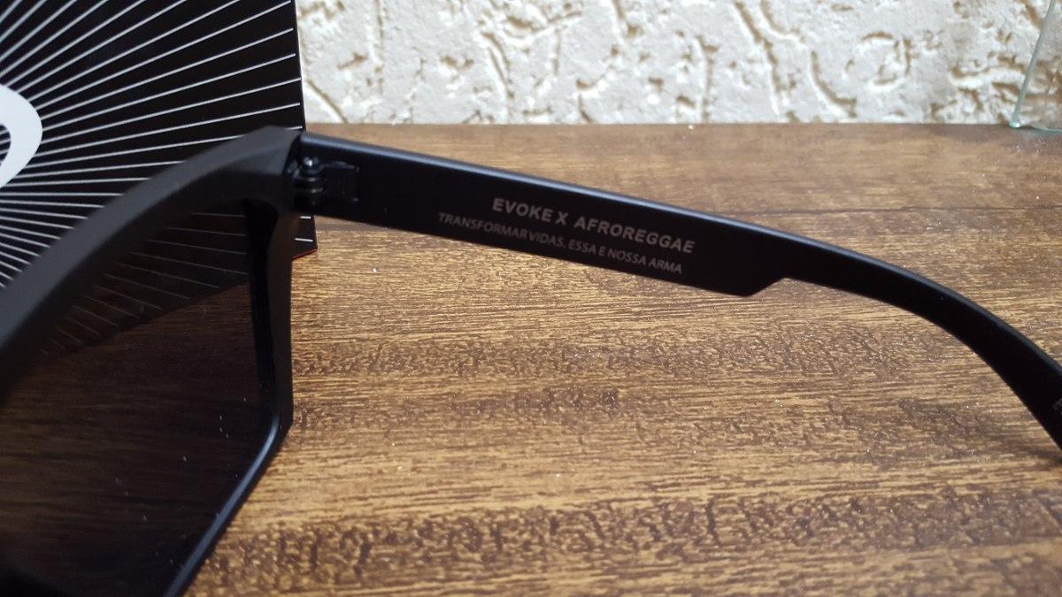 e233daa0f Óculos Evoke Afroreggae - R$ 149,90 em Mercado Livre
