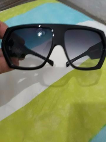 1f1f5abee7930 Óculos Evoke Amplidiamond Black Shine Silver Gray Grad. - R  350,00 ...