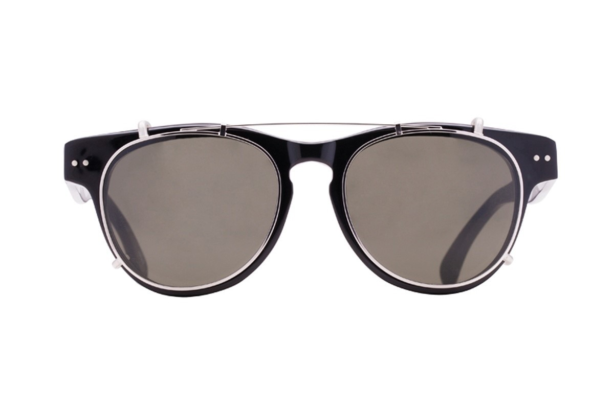 Oculos Evoke Clip On Classic - Black Silver G15 Total - R  699,00 em ... e680bb38da