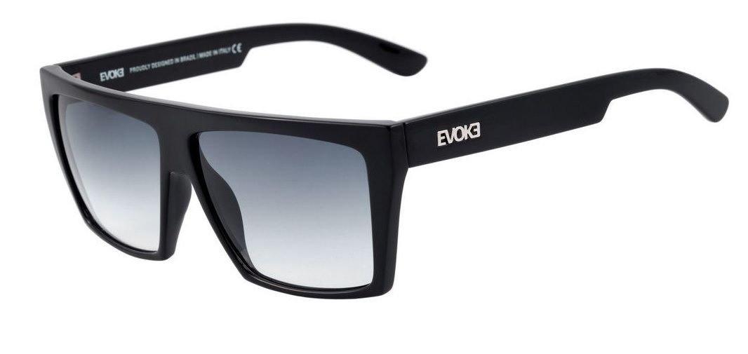 oculos evoke evk 15 a01 black shine silver gray gradient. Carregando zoom. 1ed6f3245e