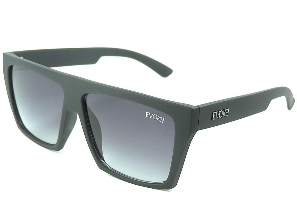 c4d08d7d6fa71 Óculos Evoke Evk 15 New Preto Masculino Proteção Uv400 - R  49